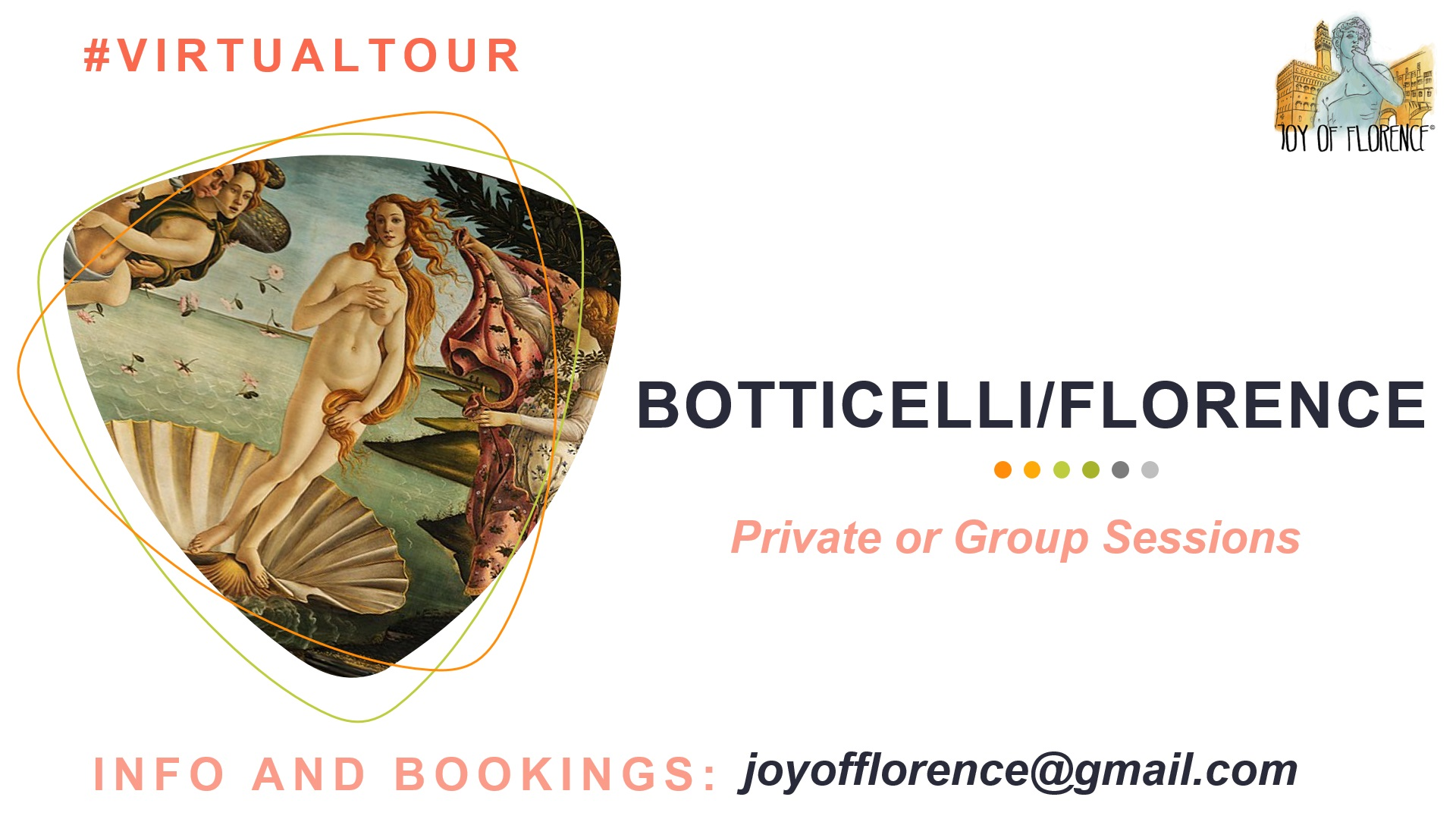 Botticelli Virtual Tour in Florence