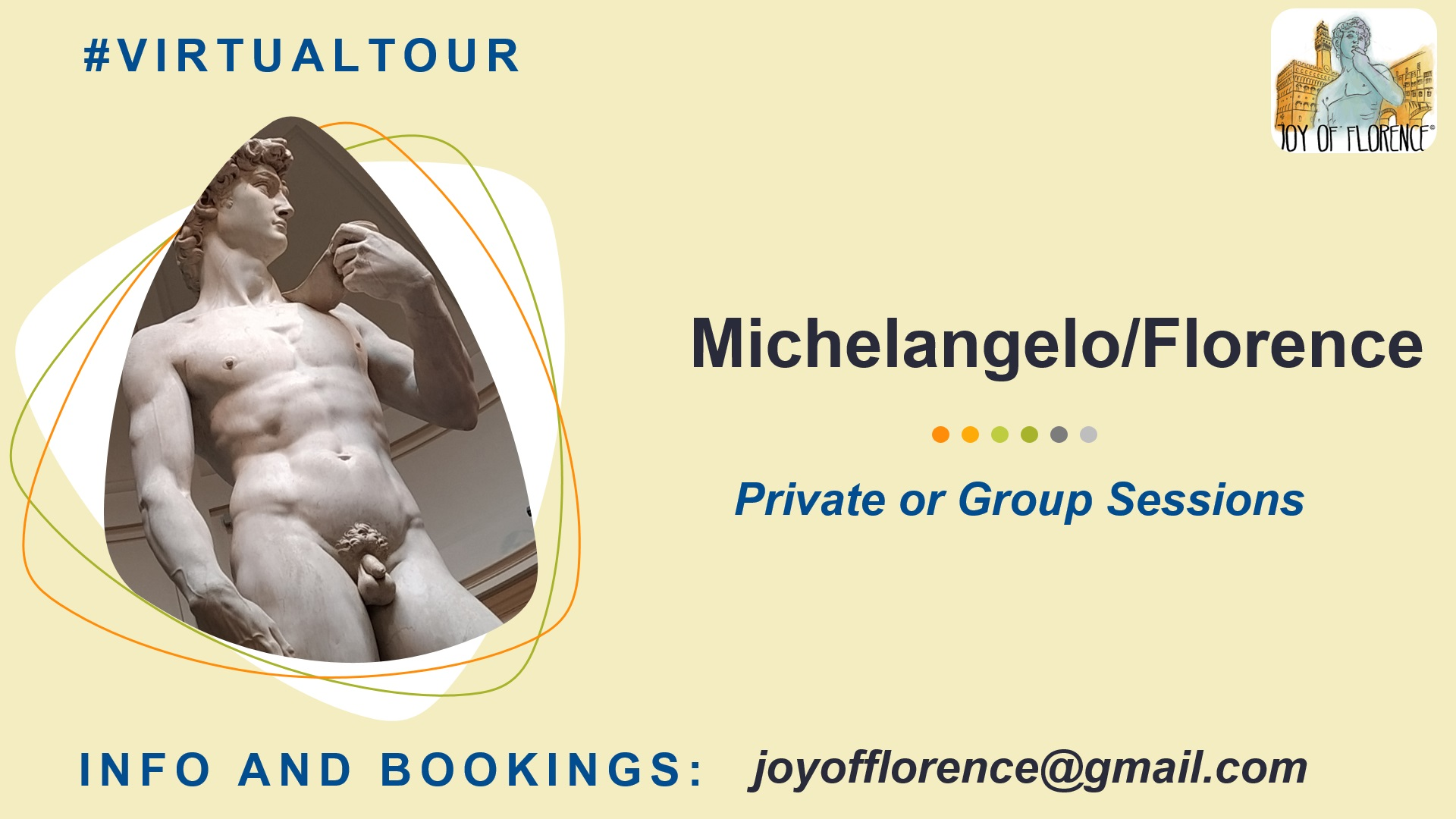 Michelangelo Virtual Tour in Florence